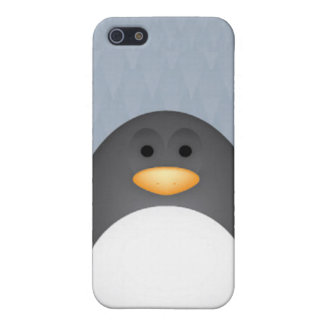 Chatty Penguin iPhone 5 Covers