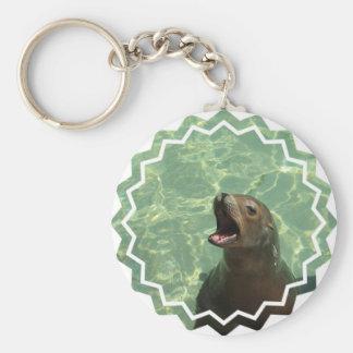 Chatty Sea Lion Keychain