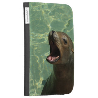 Chatty Sea Lion Kindle Folio Kindle Keyboard Covers