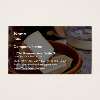 Chaubier Cheese Business Card