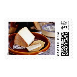Chaubier Cheese Postage Stamp