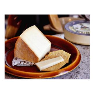 Chaubier Cheese Postcard