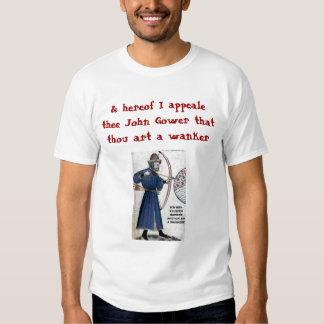 Chaucer Blog: Gower = Wankere T-shirt