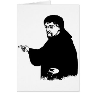 Chaucer Greeting Card