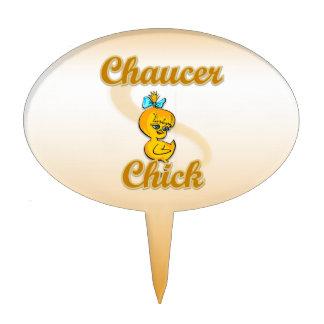 Chaucer Chick Cake Pick