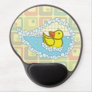 Chaucer el gel de goma Mousepad del pato Alfombrilla Con Gel
