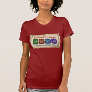 Chaucer 'Feudalpalooza' Tour (Ladies Dark Front) T-Shirt