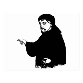 Chaucer Postcard