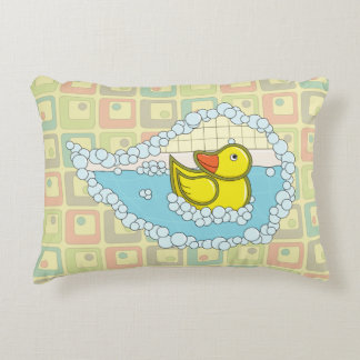 Chaucer the Rubber Duck Accent Pillow