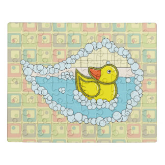 Chaucer the Rubber Duck Acrylic Puzzle