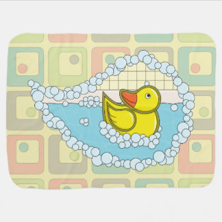 Chaucer the Rubber Duck Baby Blanket