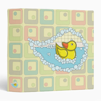 Chaucer the Rubber Duck Binder