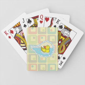 Chaucer the Rubber Duck Classic Playing Cards