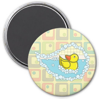 Chaucer the Rubber Duck Magnet