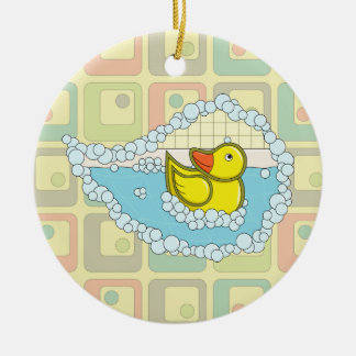 Chaucer the Rubber Duck Ornament