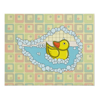 Chaucer the Rubber Duck Poster