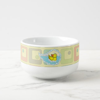 Chaucer the Rubber Duck Soup Mug