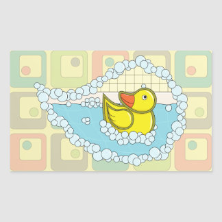 Chaucer the Rubber Duck Sticker