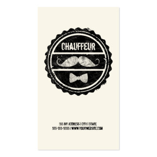 Chauffeur Business Card