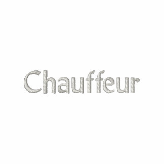 Chauffeur Embroidered Shirt