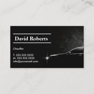 Driver Business Cards Card