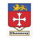 Chauncey Family Crest Invites