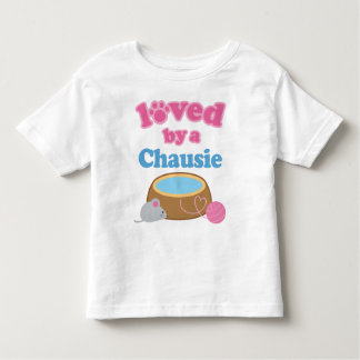 Chausie Cat Breed Loved By A Gift Toddler T-shirt