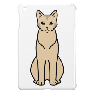 Chausie Cat Cartoon Cover For The iPad Mini