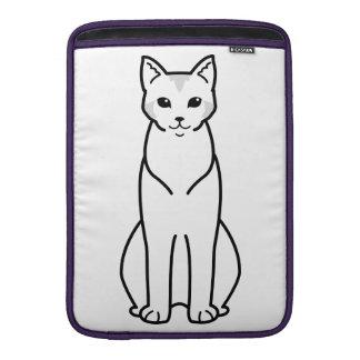 Chausie Cat Cartoon MacBook Air Sleeve