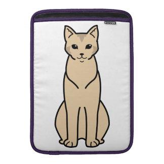 Chausie Cat Cartoon Sleeve For MacBook Air