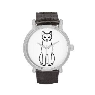 Chausie Cat Cartoon Wrist Watch