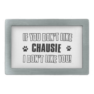 chausie cat design belt buckles