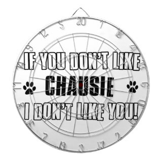 chausie cat design dartboard