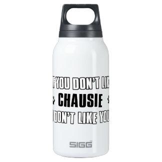 chausie cat design thermos water bottle