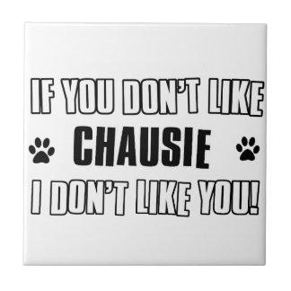 chausie cat design tile
