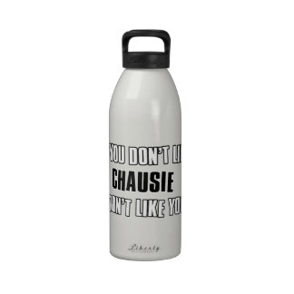 chausie cat design reusable water bottles