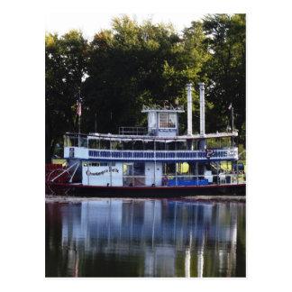 Chautauqua Belle on Lake Chautauqua Postcard
