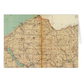 Chautauqua, condados de Cattaraugus Tarjeton