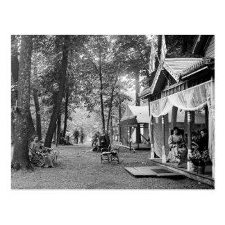 Chautauqua en Waseca, Minnesota, a fines del 1800 Postal