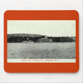 Chautauqua Lake, Jamestown NY 1909 Vintage Mouse Pad