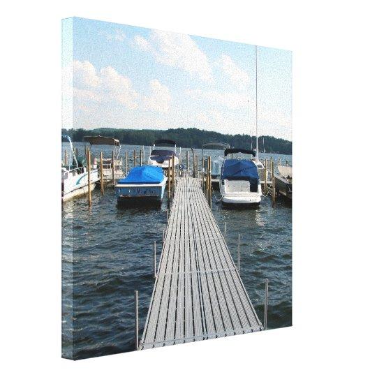 Chautauqua Lake, New York Wrapped Canvas