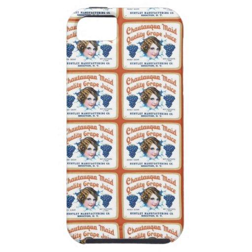 Chautauqua Maid Quality Grape Juice iPhone 5 Cover