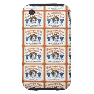 Chautauqua Maid Quality Grape Juice iPhone 3 Tough Cover