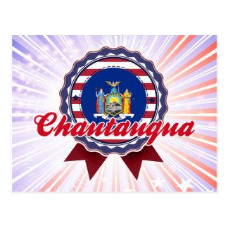 Chautauqua, NY Tarjeta Postal