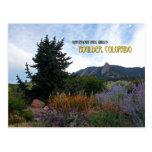 Chautauqua Park Garden Post Card