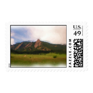 Chautauqua Park mountain stamp