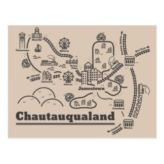 Chautauqualand Postcard