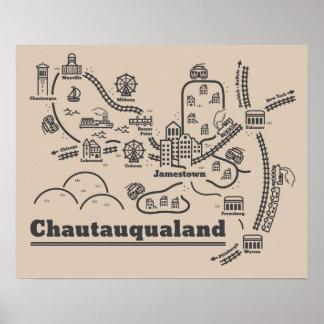 Chautauqualand Poster (16 x 20)