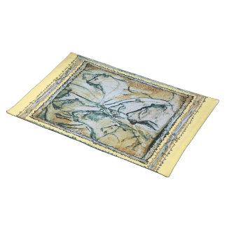Chauvet Cave Lions Cloth Placemat