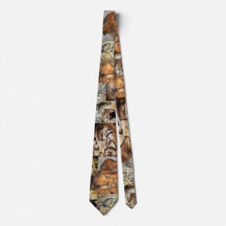 Chauvet Cave Paintings Tie